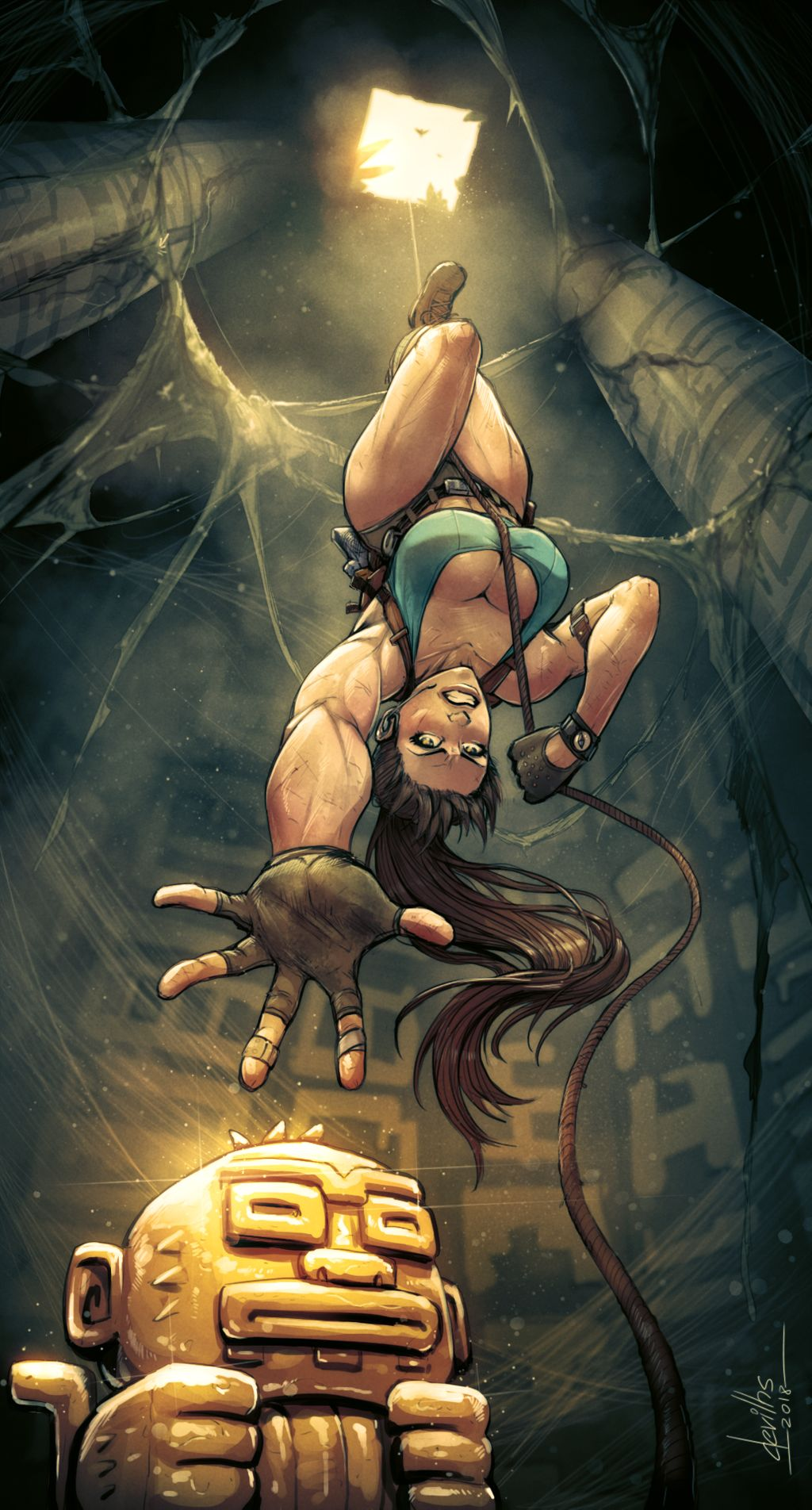 tomb raider 2013 Touch the cow do it now meme