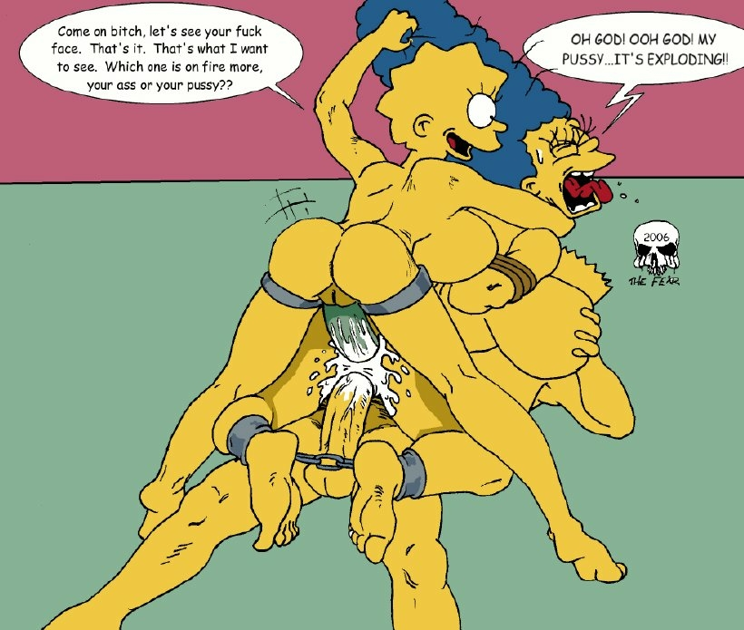 lisa and bart naked simpson Five nights of freddy xxx