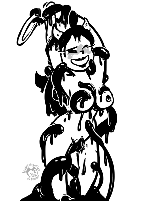 boris alice the machine x and ink bendy Beauty_and_the_beast
