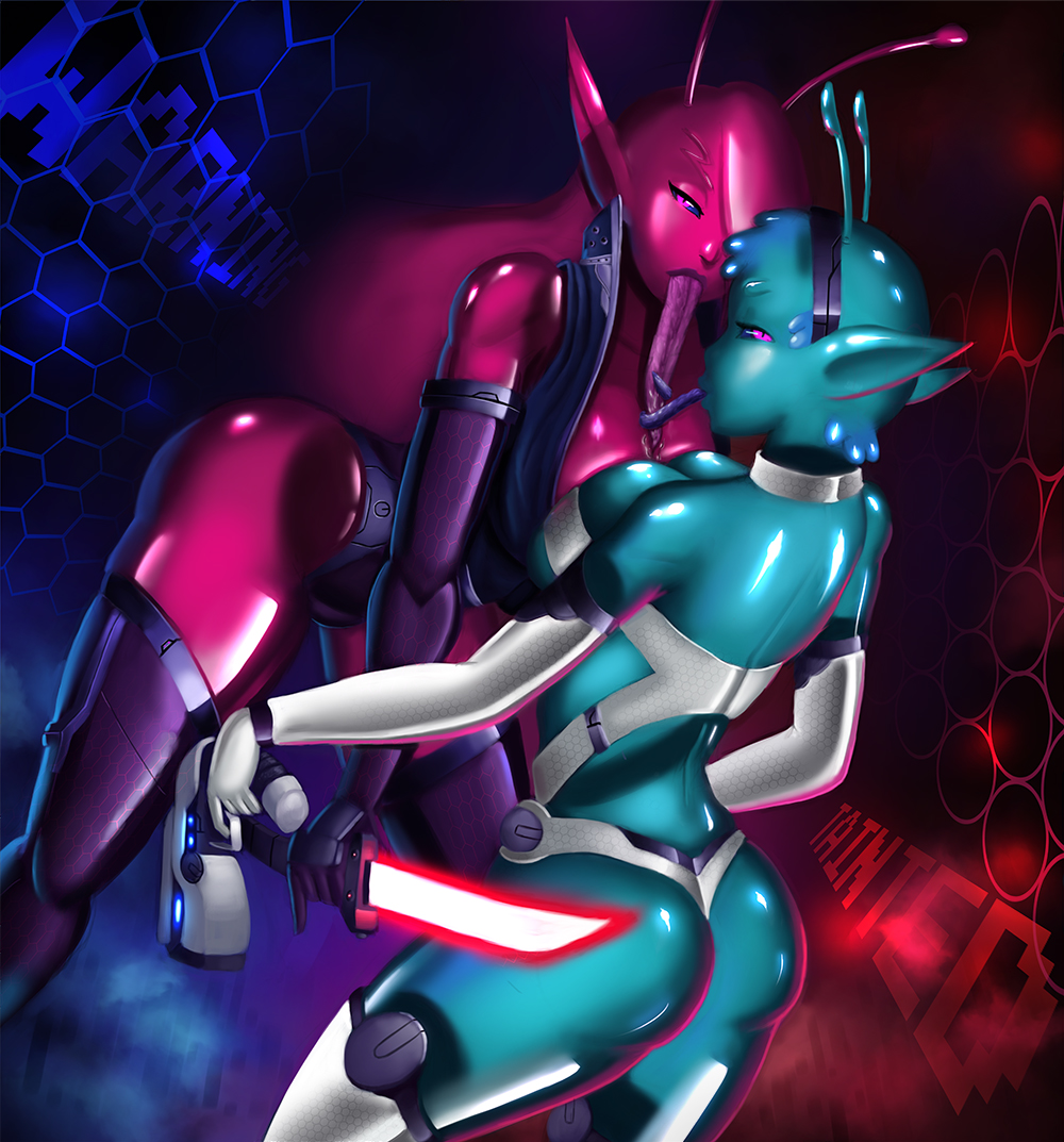 tainted embry trials in space Monster girl quest alice human