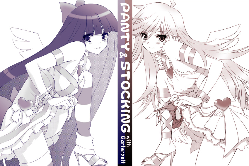 with panty stocking and stocking garterbelt Five nights at freddy's xxx comic