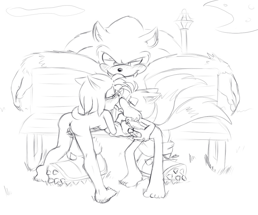 werehog sonic and amy the King of the hill girls naked
