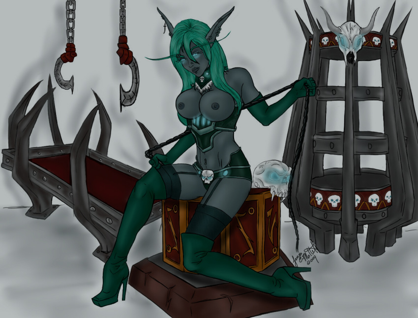 elf female night death knight Lady and the tramp fanfiction