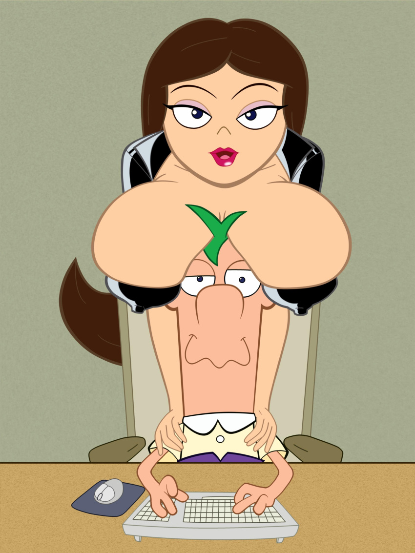 porn ferb and phineas vanessa Redrusker alone in the woods