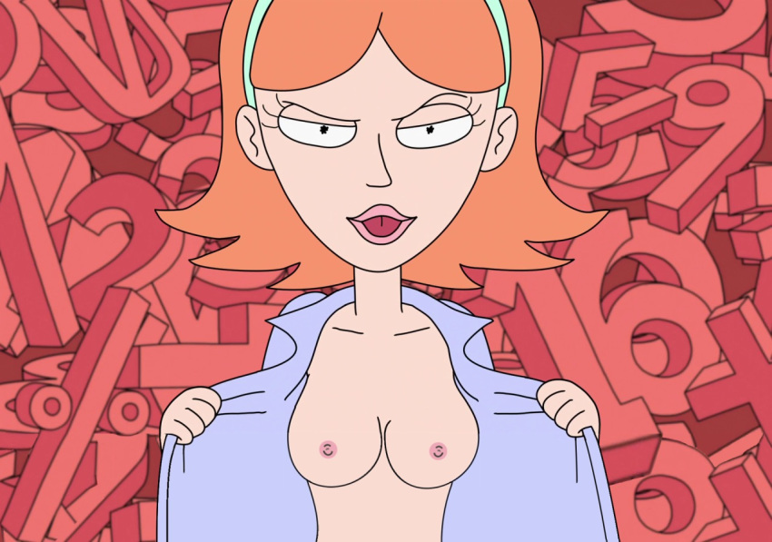 naked rick morty summer and Adventure time flame princess nude