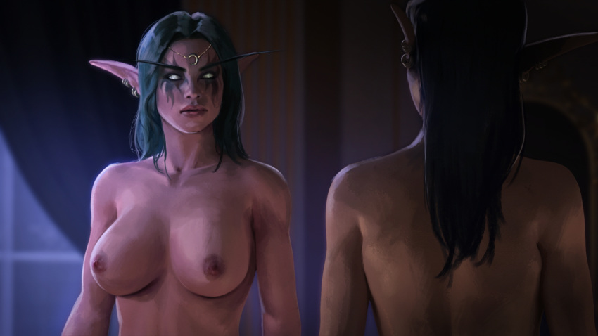 of night hentai world warcraft elf In another world with my smartphone hentia